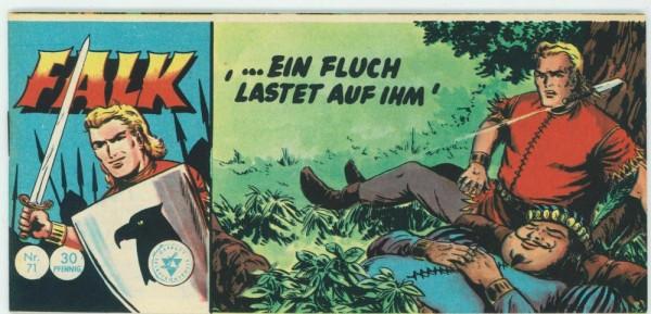 Falk Piccolo 71 (Z1), Lehning