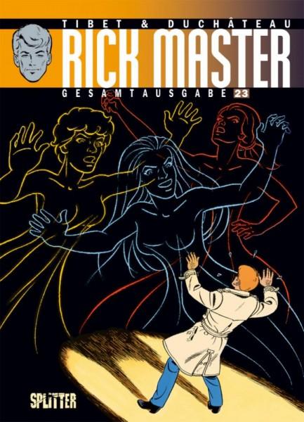 Rick Master Gesamtausgabe 23, Splitter
