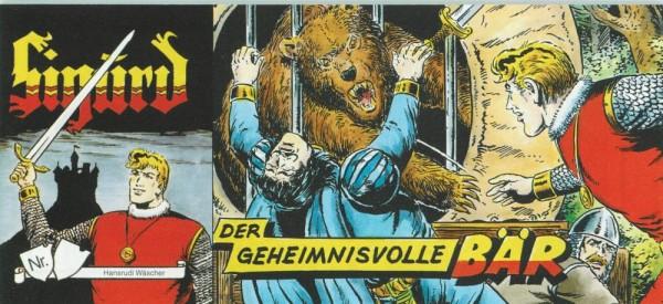 Sigurd Piccolo, Der geheimnisvolle Bär (Z0, Beilage Sprechblase), Hethke