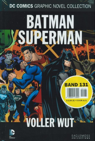 DC Comic Graphic Novel Collection 131 - Batman/Superman, Eaglemoss