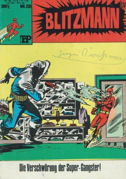 Top Comics - Blitzmann 120 (Z1-2, SZ), bsv