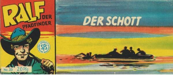Ralf der Pfadfinder 23 (Z1), Lehning