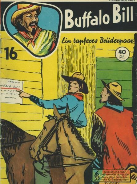 Buffalo Bill 16 (Z2), Mondial