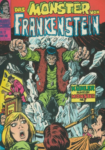 Das Monster von Frankenstein 12 (Z1-2), Williams