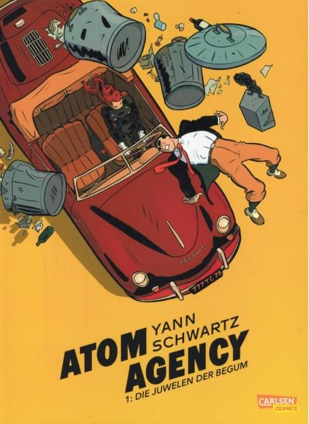 Atom Agency 1, Carlsen