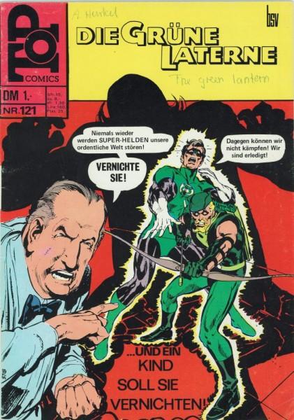 Top Comics - Die Grüne Laterne 121 (Z1-2, SZ), bsv