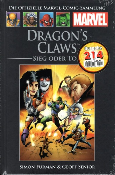 Hachette Marvel 214 - Dragon's Claws, Panini