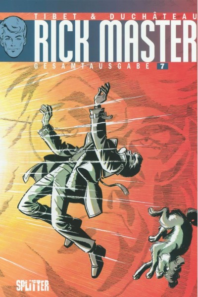 Rick Master Gesamtausgabe 7, Splitter