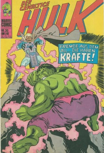 Hulk 30 (Z1), Williams