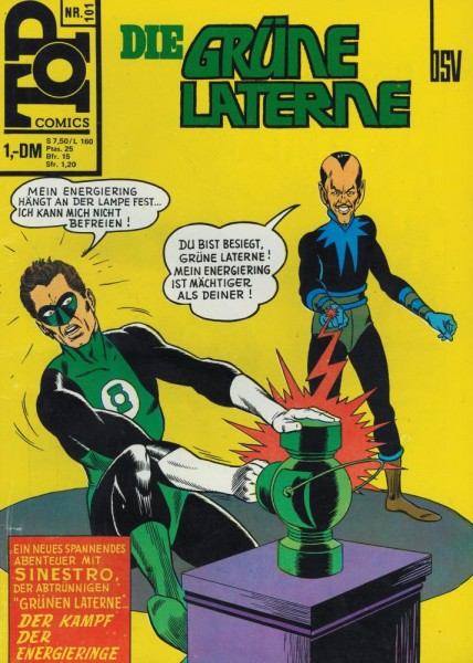 Top Comics - Die Grüne Laterne 101 (Z1-2), bsv