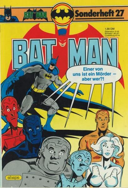 Batman Sonderheft 27 (Z1-2), Ehapa
