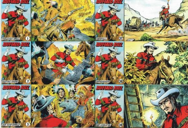 Buffalo Bill 1-39, Wildfeuer