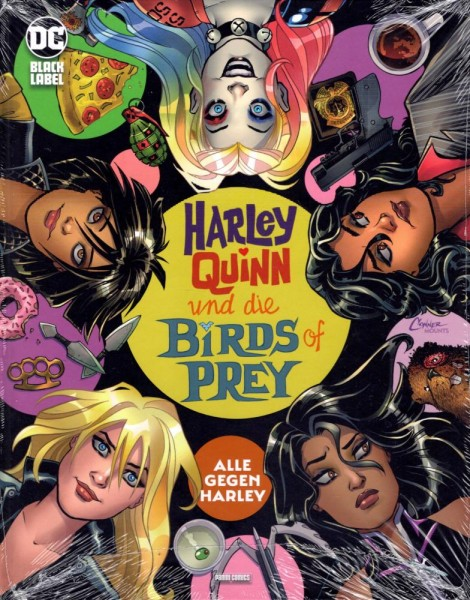 Harley Quinn und die Birds of Prey - Alle gegen Harley (Variant-Cover), Panini