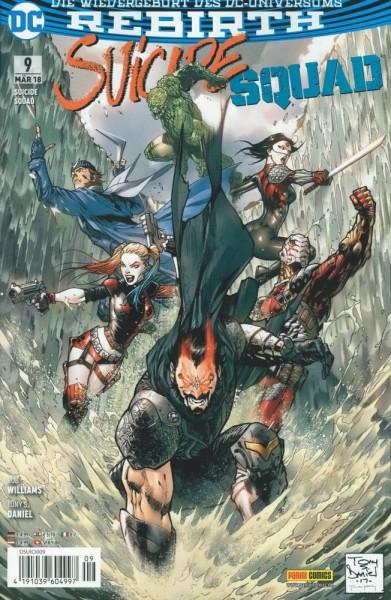 Suicide Squad Rebirth 9, Panini