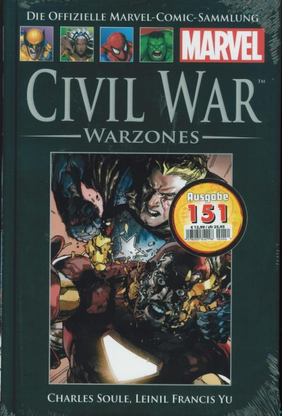 Hachette Marvel 151 - Civil War, Panini