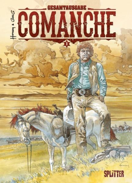 Comanche Gesamtausgabe 1, Splitter