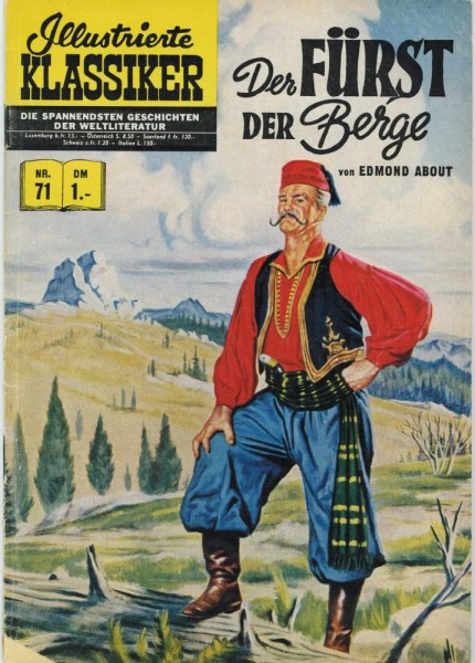 Illustrierte Klassiker 71 (Z2 HLN74), bsv